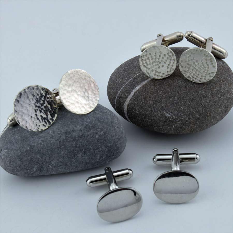 Silver Cufflinks at Durham University Official Shop |Silver Cufflinks