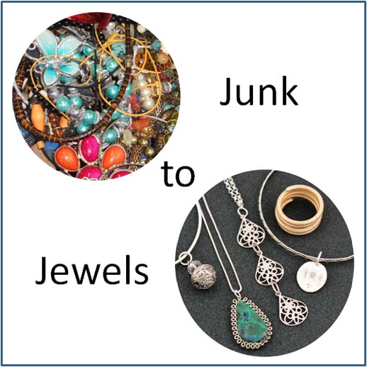 Junk to Jewels – Up-cycle, Re-cycle, Vintage Make Fabulous @ Sheffield | United Kingdom