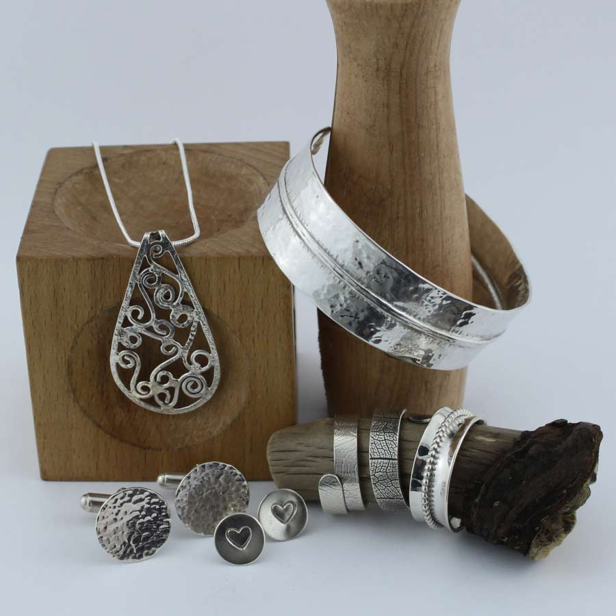 silver jewellery that can be made at Studio Budgie Galore