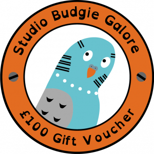 £100 Gift Voucher - Studio Budgie Galore Ltd