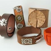 Leather Cuff Workshop - Studio Budgie Galore Ltd