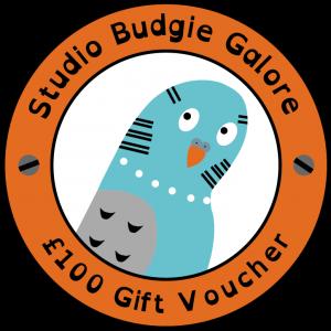 £100 Gift Voucher - Studio Budgie Galore Ltd