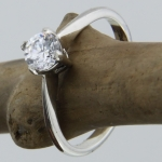Stone Set Ring - www.budgiegalore.co.uk